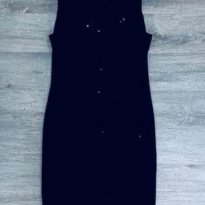 Jones New York Dresses - Jones New York Black Embellished Dress